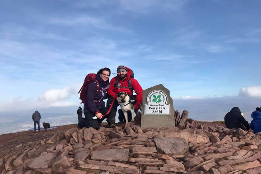 Guests at Pen y Fan